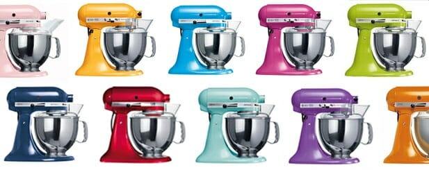 KitchenAid mixer colors