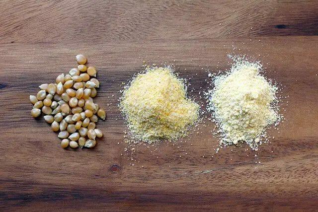 cornmeal vs cornstarch vs corn flour