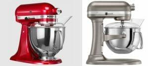 Kitchenaid Artisan vs Professional