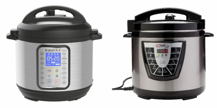 Instant Pot vs Power Pressure Cooker