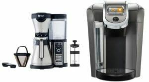 Ninja Coffee Bar vs Keurig